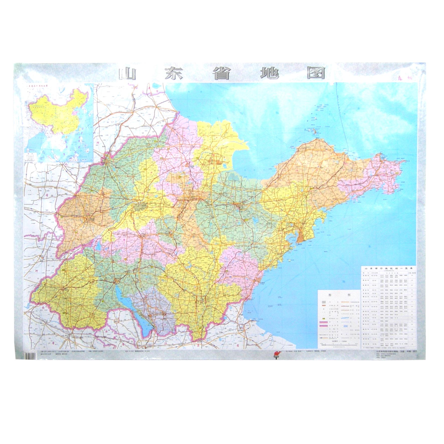 山东省地图 山东省高速公路地图