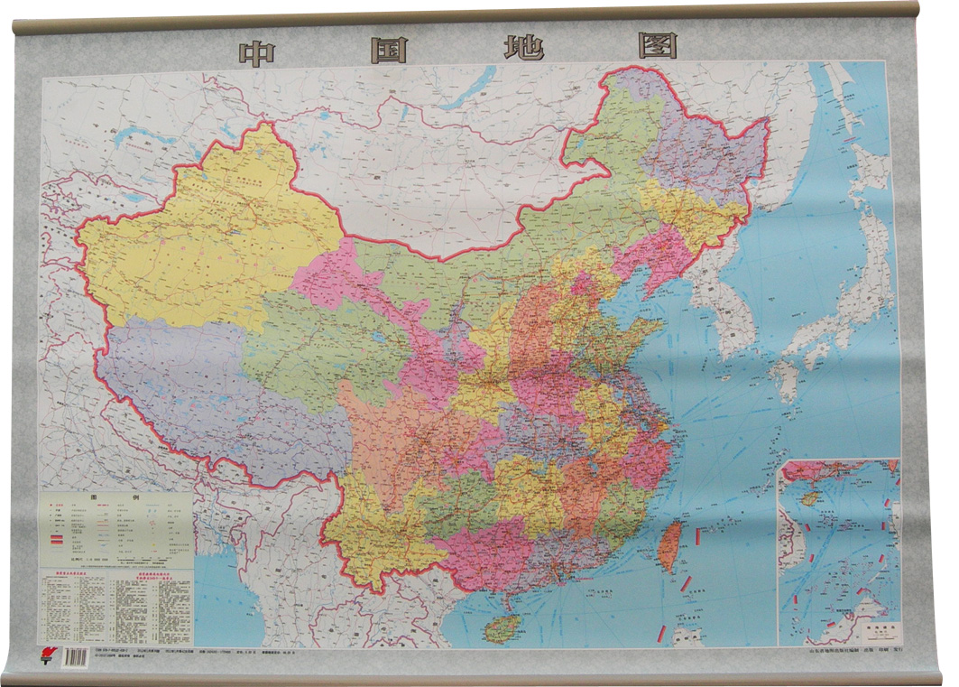 021120dk挂式中国地图